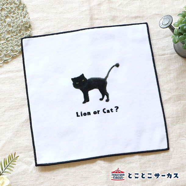ハンドタオル 「I'm a cat」